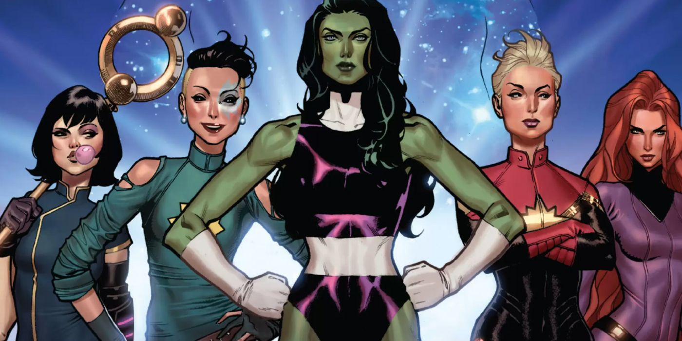 A-Force: How Marvel's Female Avengers Squad Formed | CBR