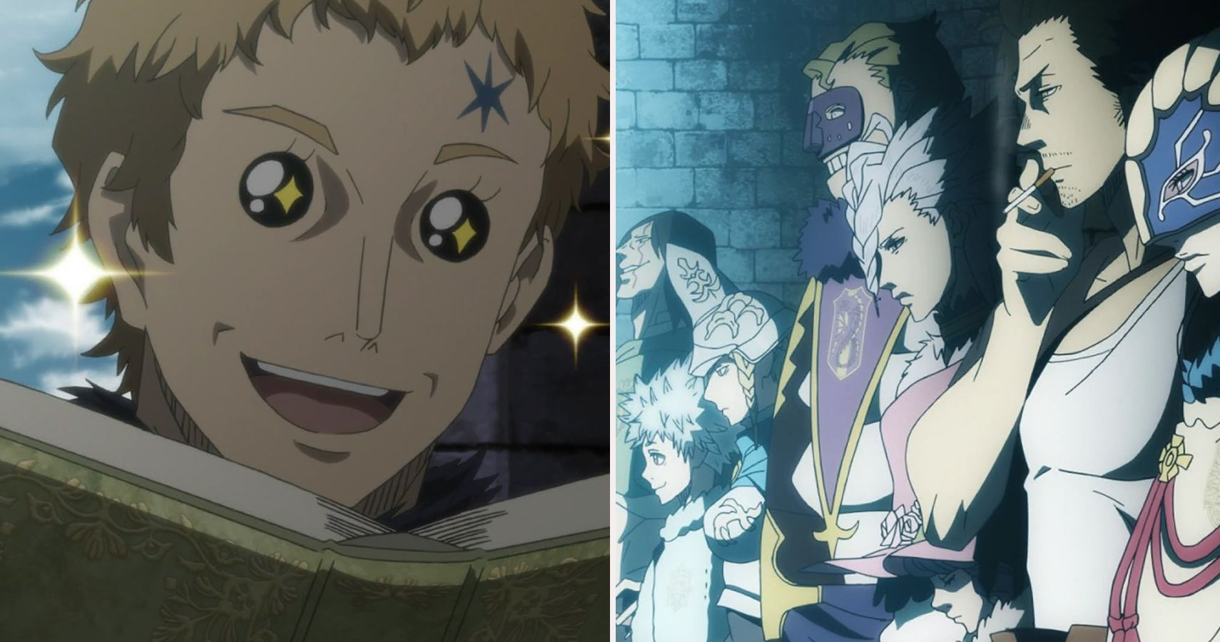 Black Clover Magic Knight Captains Ranked Cbr Julius novachrono is the current wizard king and was the former strongest magic knight in the clover kingdom. black clover magic knight captains
