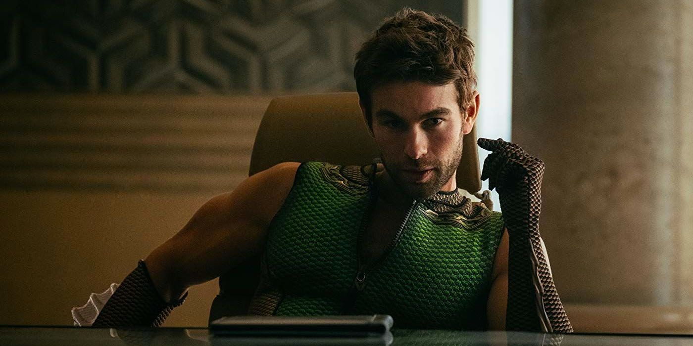 The Boys Calendar Shocks Internet With Chace Crawford's Massive Bulge