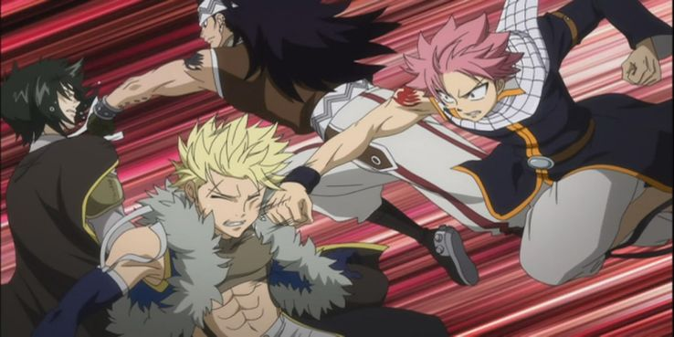 Top 10 Most Brutal Fights In Fairy Tail | CBR