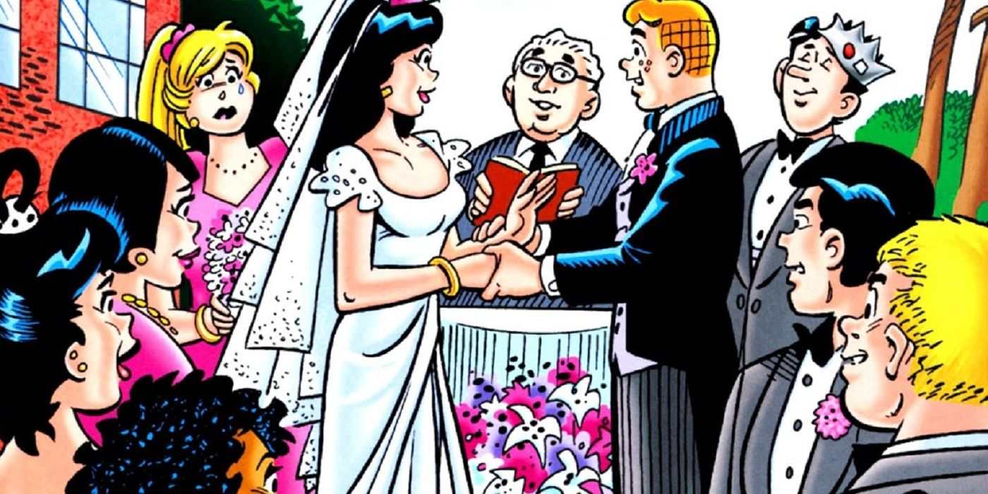Look Back: Archie Comics Shocks the World With a Wedding! | CBR