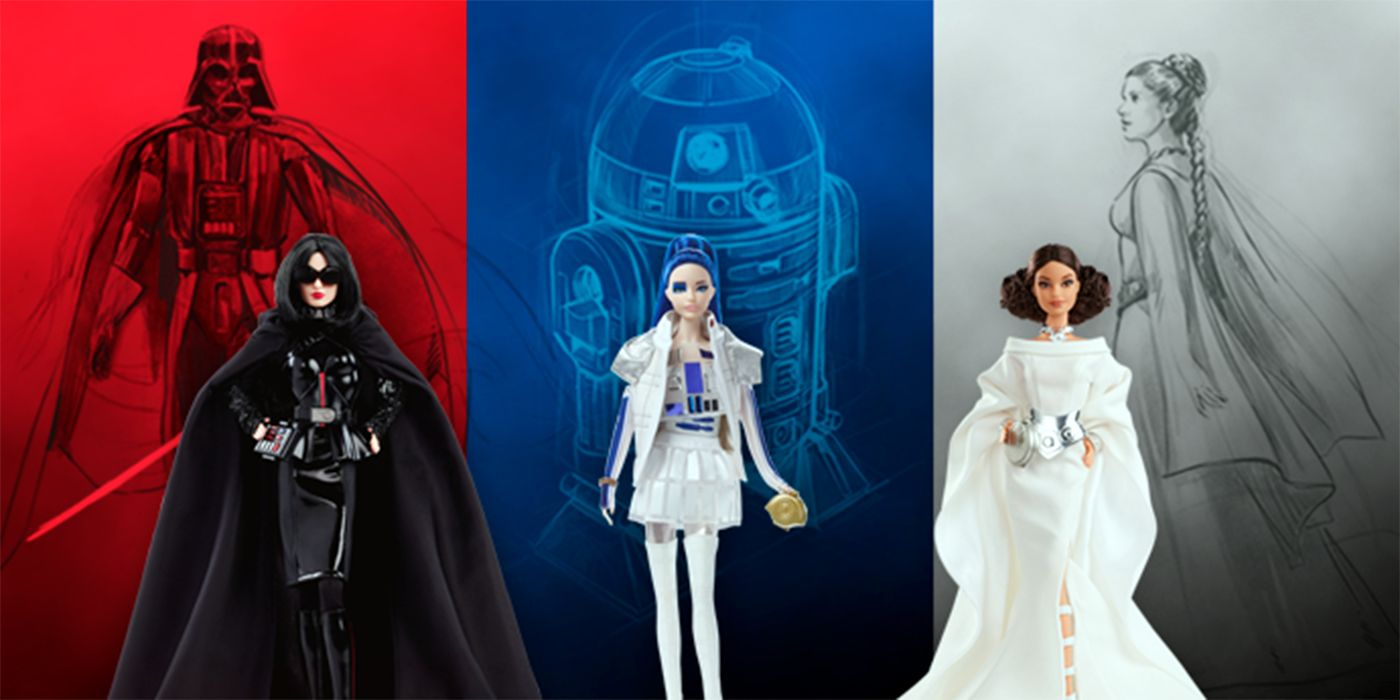 Mattel's Star Wars x Barbie Collection Includes a Sexy Darth Vader Figure