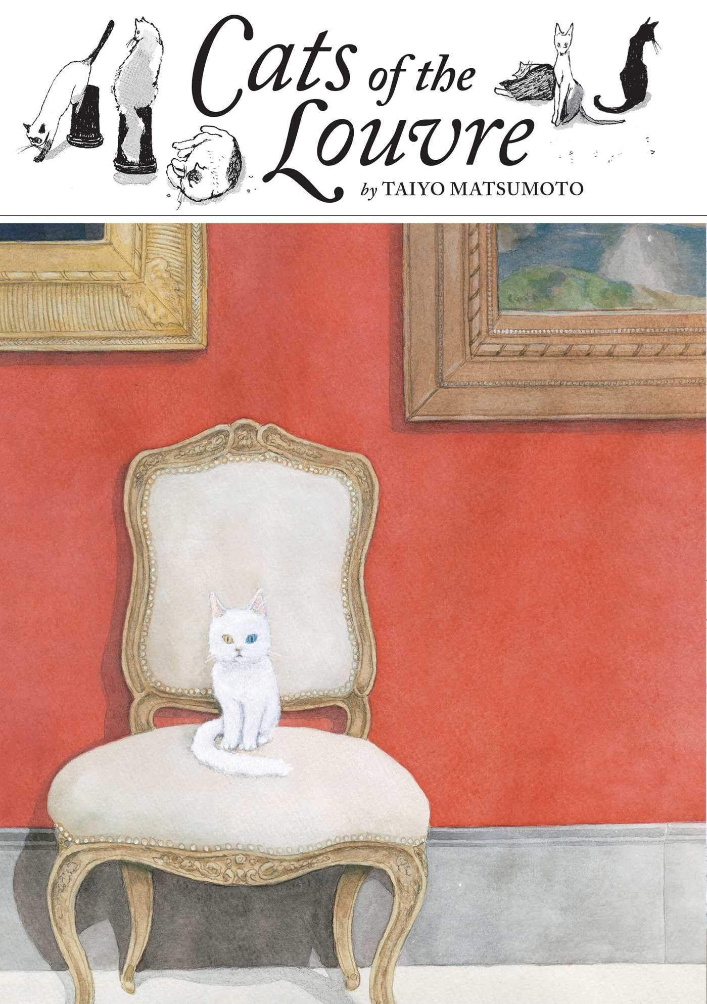 REVIEW Cats of the Louvre is a Beautifully Weird Journey
