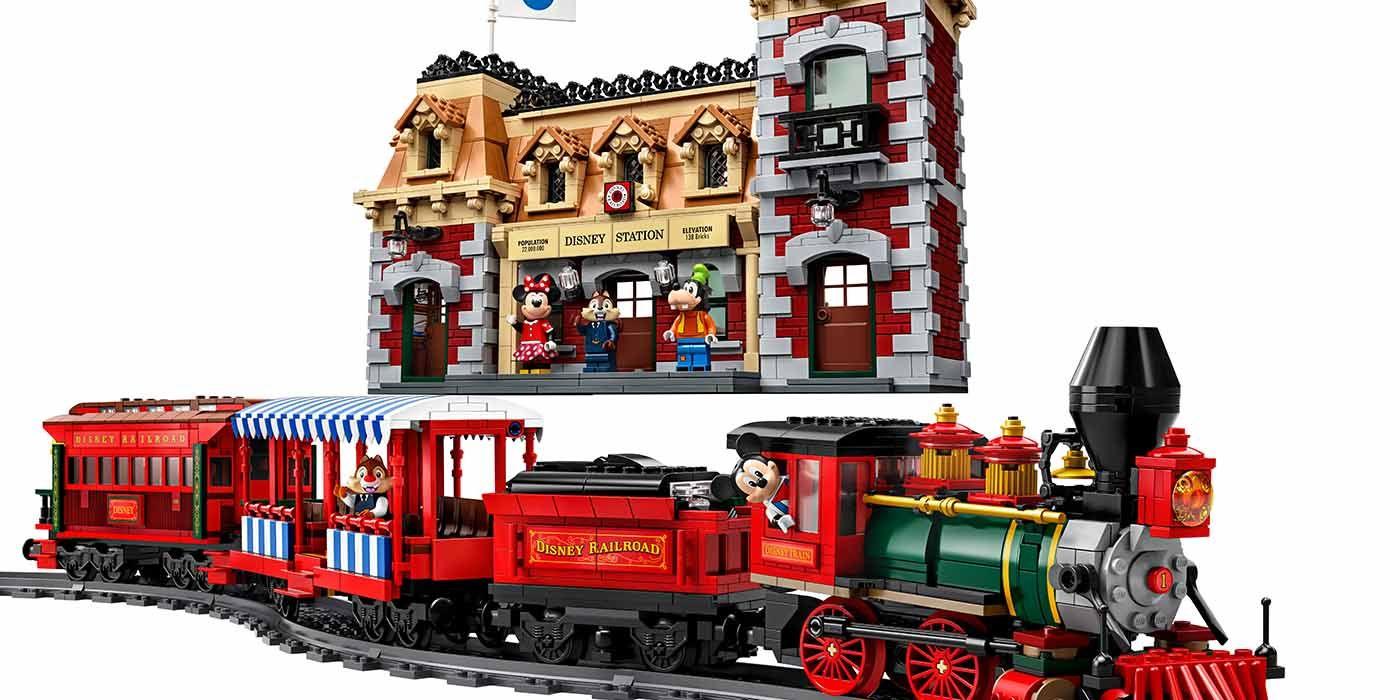 LEGO Unveils Massive Disney Train and Station Playset | CBR