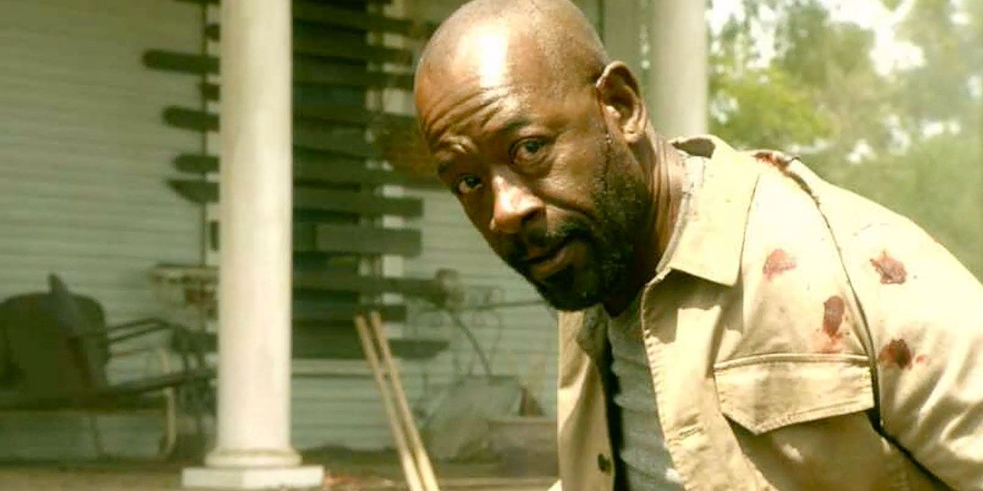 Fear the Walking Dead Clip Teases a Brush with Death for Morgan