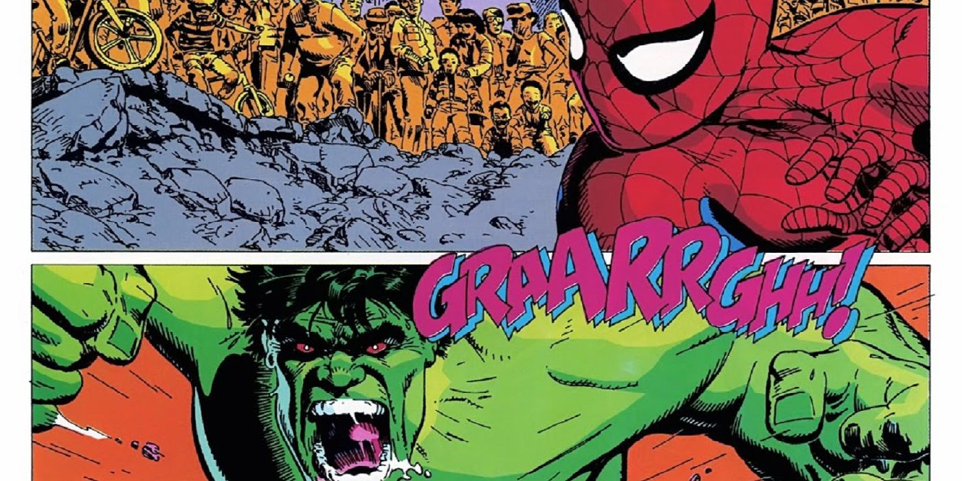 The Spider-Man/Hulk Team-Up That Took Seven Years to Be Released!
