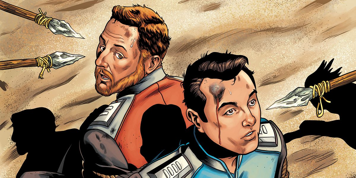 EXCL.: The Orville #2 Sees Ed Mercer Pursuing A Penguin-Centric Mystery