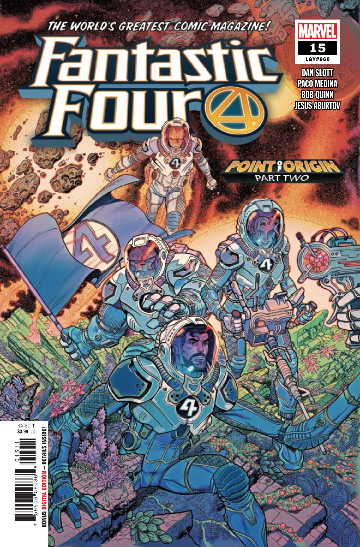 PREVIEW: Fantastic Four #15   CBR