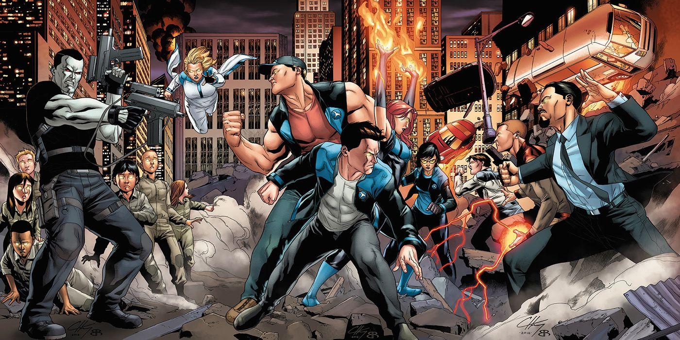 Valiant's Harbinger Film Changes Studios From Sony to Paramount