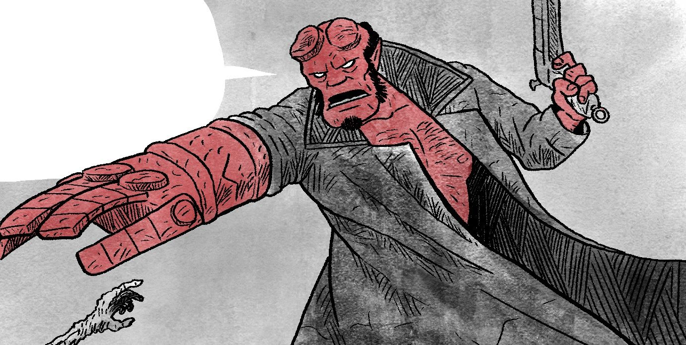 Comic Legends: The Curious Case of Christ in Hellboy Comics | CBR