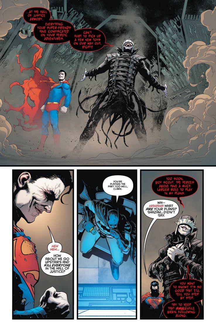 Batman/Superman DC Comics Batman che ride