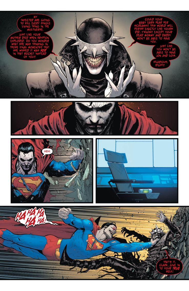 DC Comics Batman/Superman Batman che ride Justice League