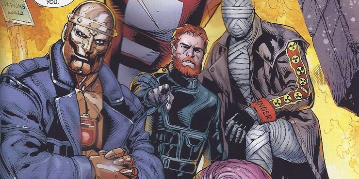 Doom Patrol 10 Things You Didn T Know About Robot Man Cbr