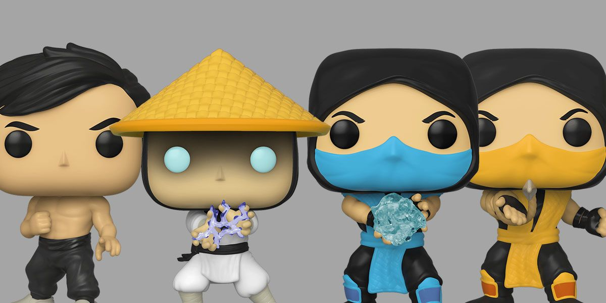 Mortal Kombat Funko Pop! Line Is Ready to Eviscerate a Toy Shelf
