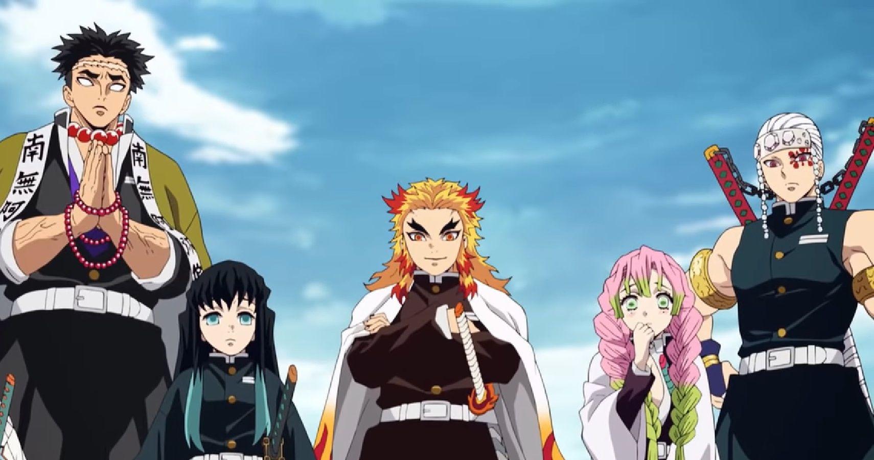 Demon Slayer Every Hashira Ranked According To Strength Cbr Mitsuri kanroji (甘 (かん) 露 (ろ) 寺 (じ) 蜜 (みつ) 璃 (り) kanroji mitsuri?) is a major supporting character of demon slayer: demon slayer every hashira ranked