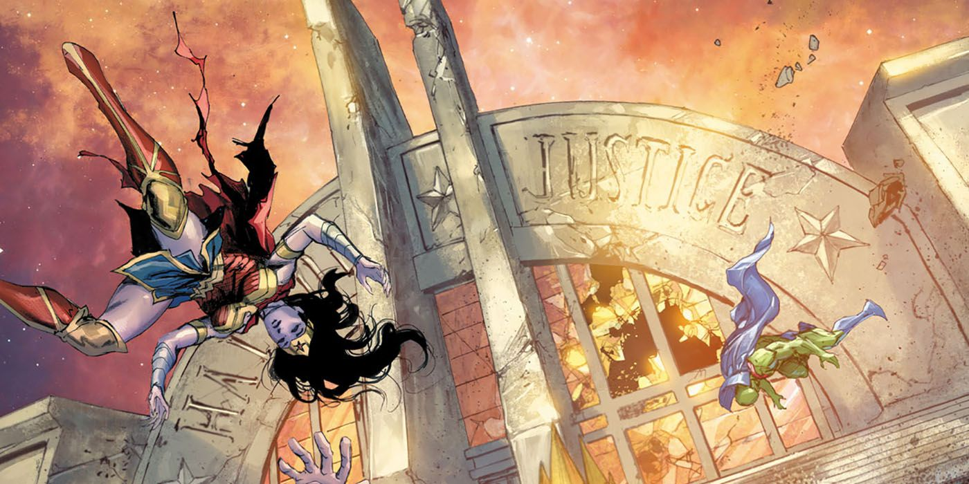 Scott Snyder's Final Justice League Issue Arrives in January