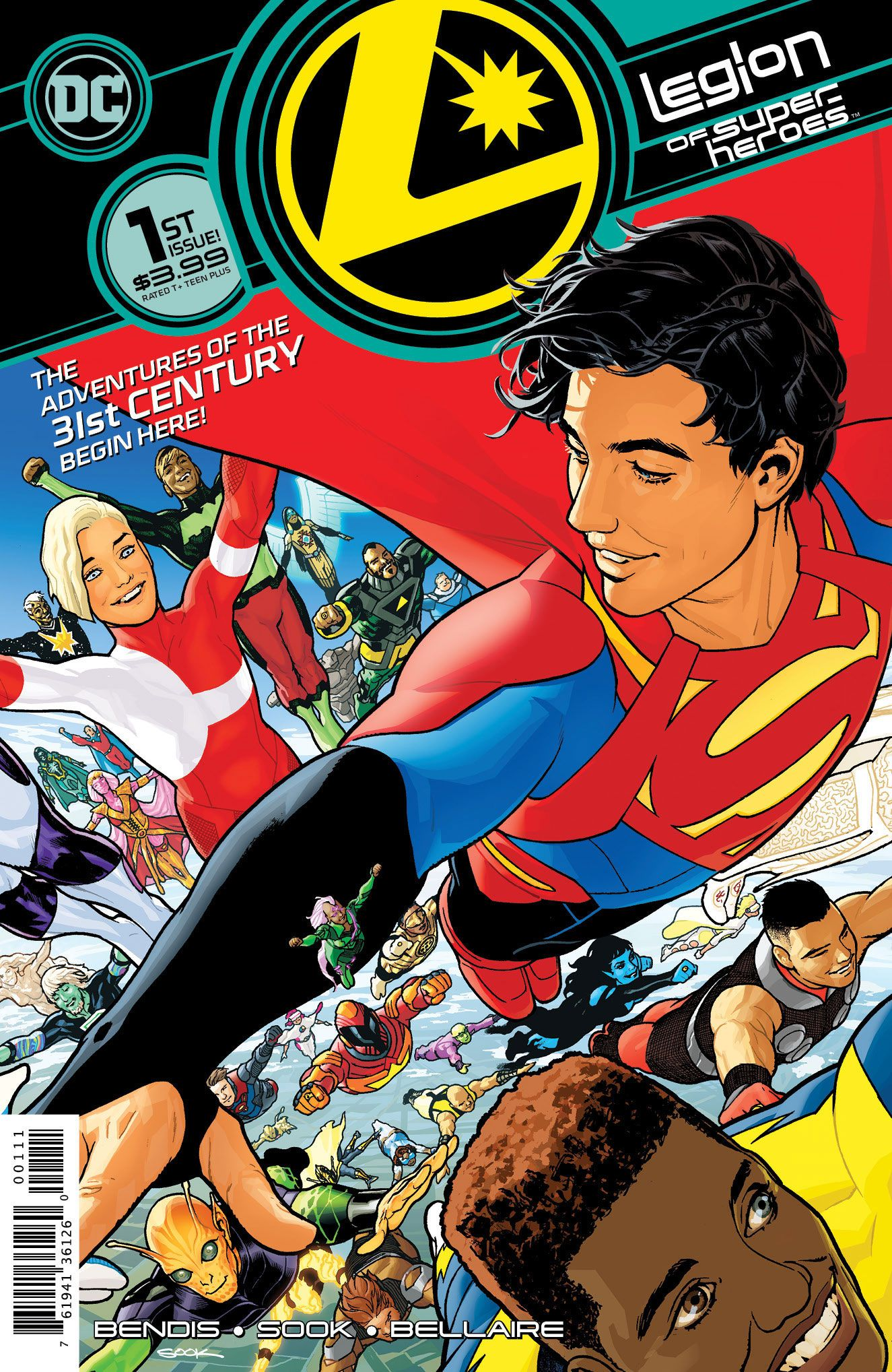 Legion of Super-Heroes #1 Gives Us the First Look the Future of the DC Universe