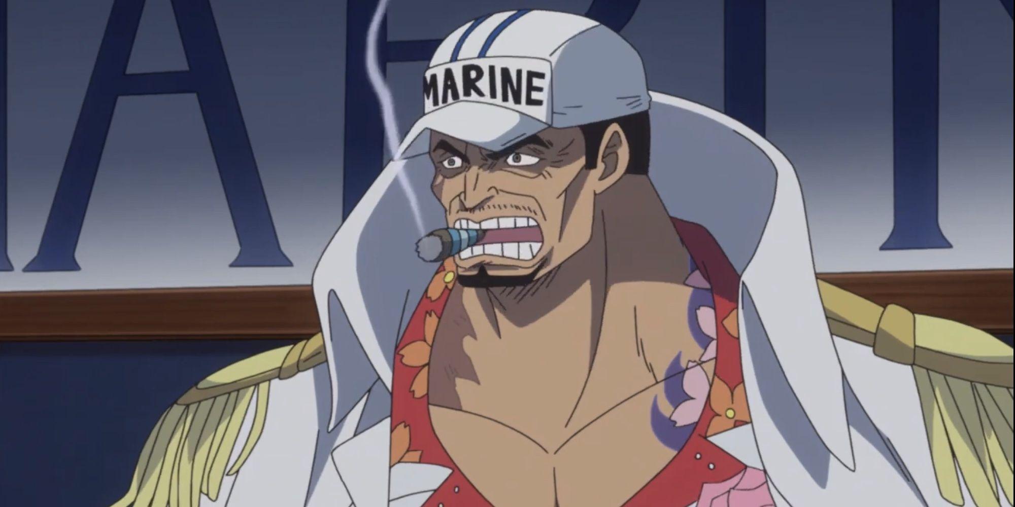 One Piece: Top 10 Strongest Marines   CBR