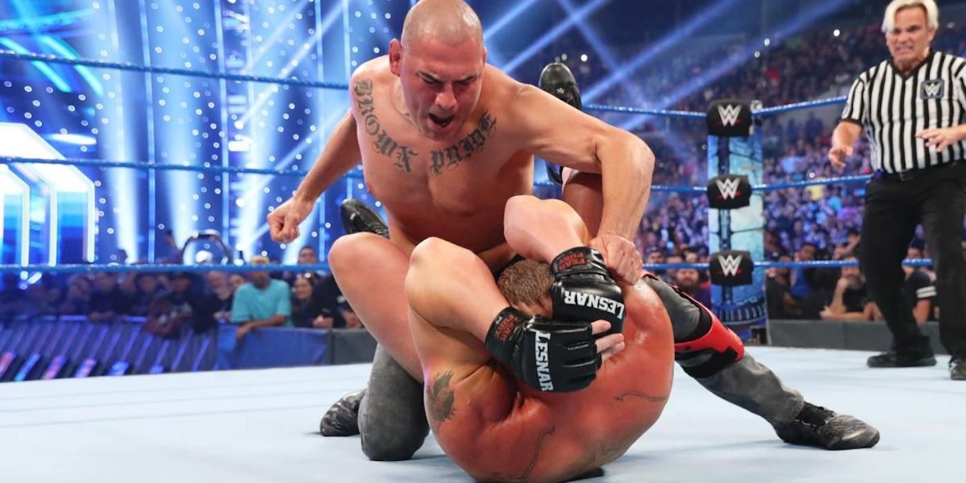 WWE Is Repeating Its Biggest MMA Mistake With UFC's Cain Velasquez