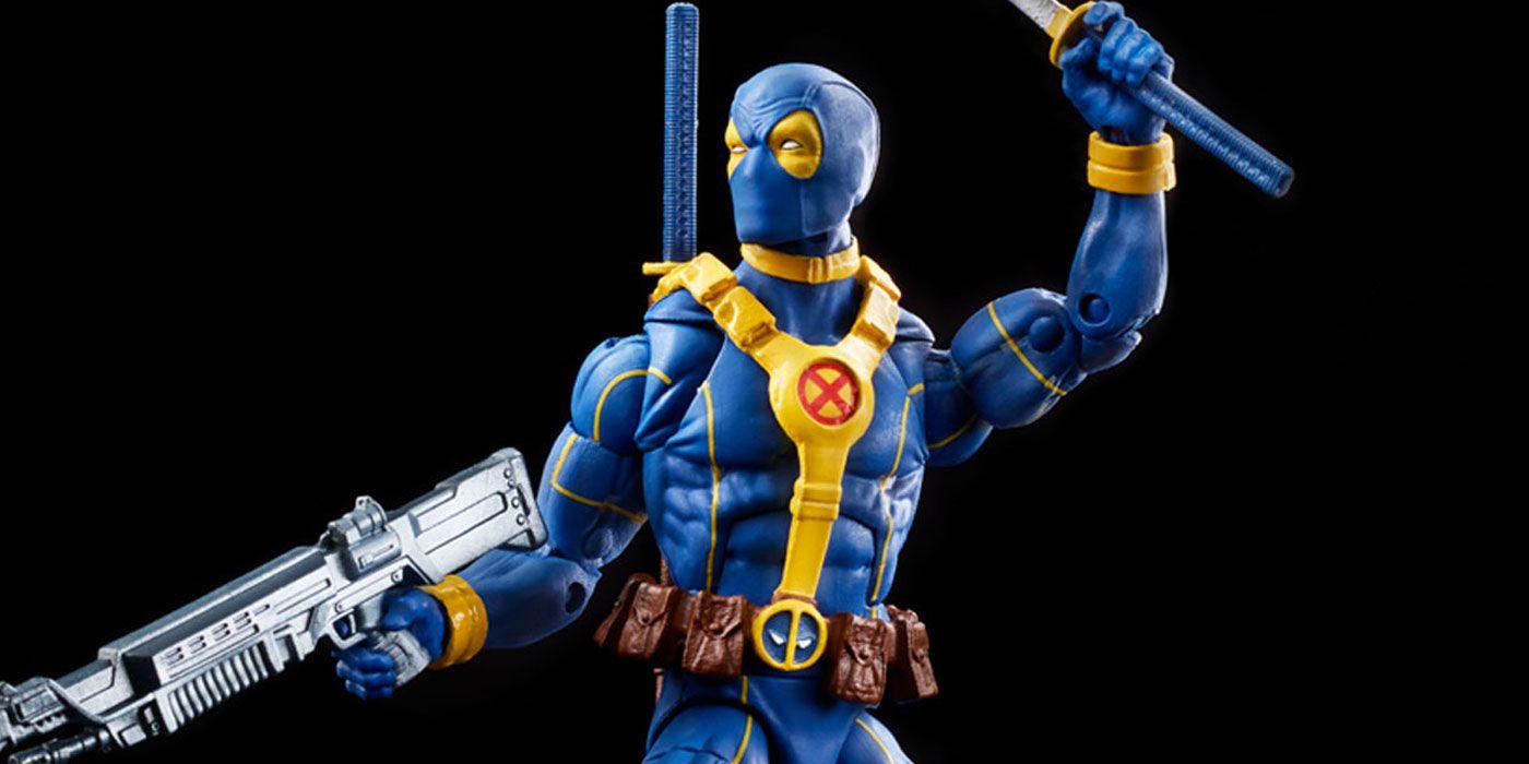 Deadpool Scores His Own X-Men Themed Marvel Legends Line from Hasbro