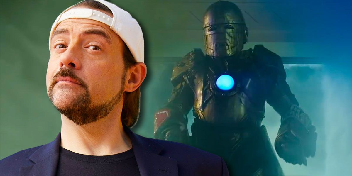 Kevin Smith Dons Iron Man Armor in Jay and Silent Bob Reboot Footage