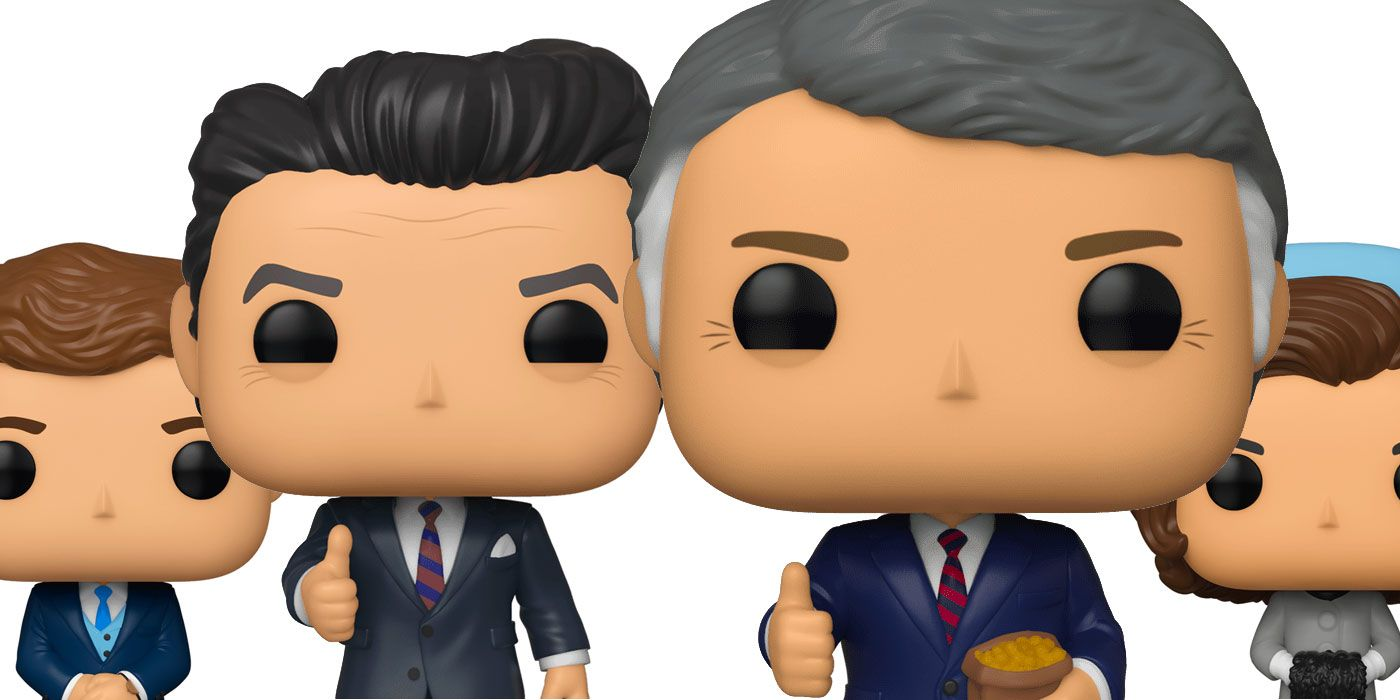 Reagan, Carter and the Kennedys Get the Funko Pop! Treatment