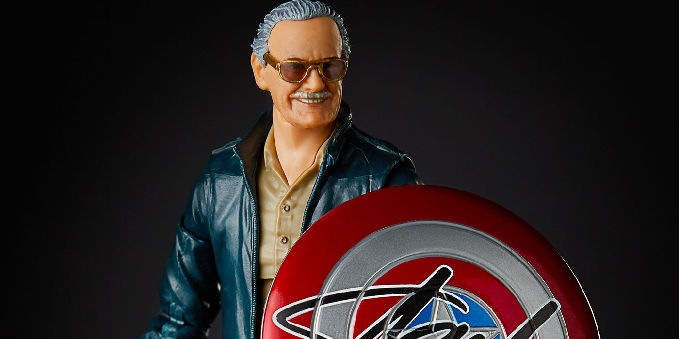 Hasbro Immortalizes Stan Lee as 6-Inch Marvel Legends Figure