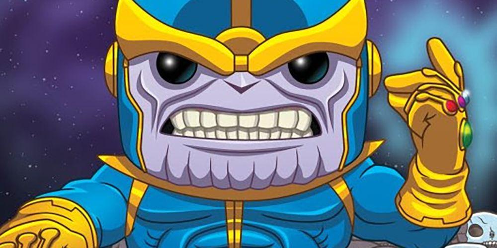 Funko Unveils Oversized Thanos Snap Pop! Figure | CBR