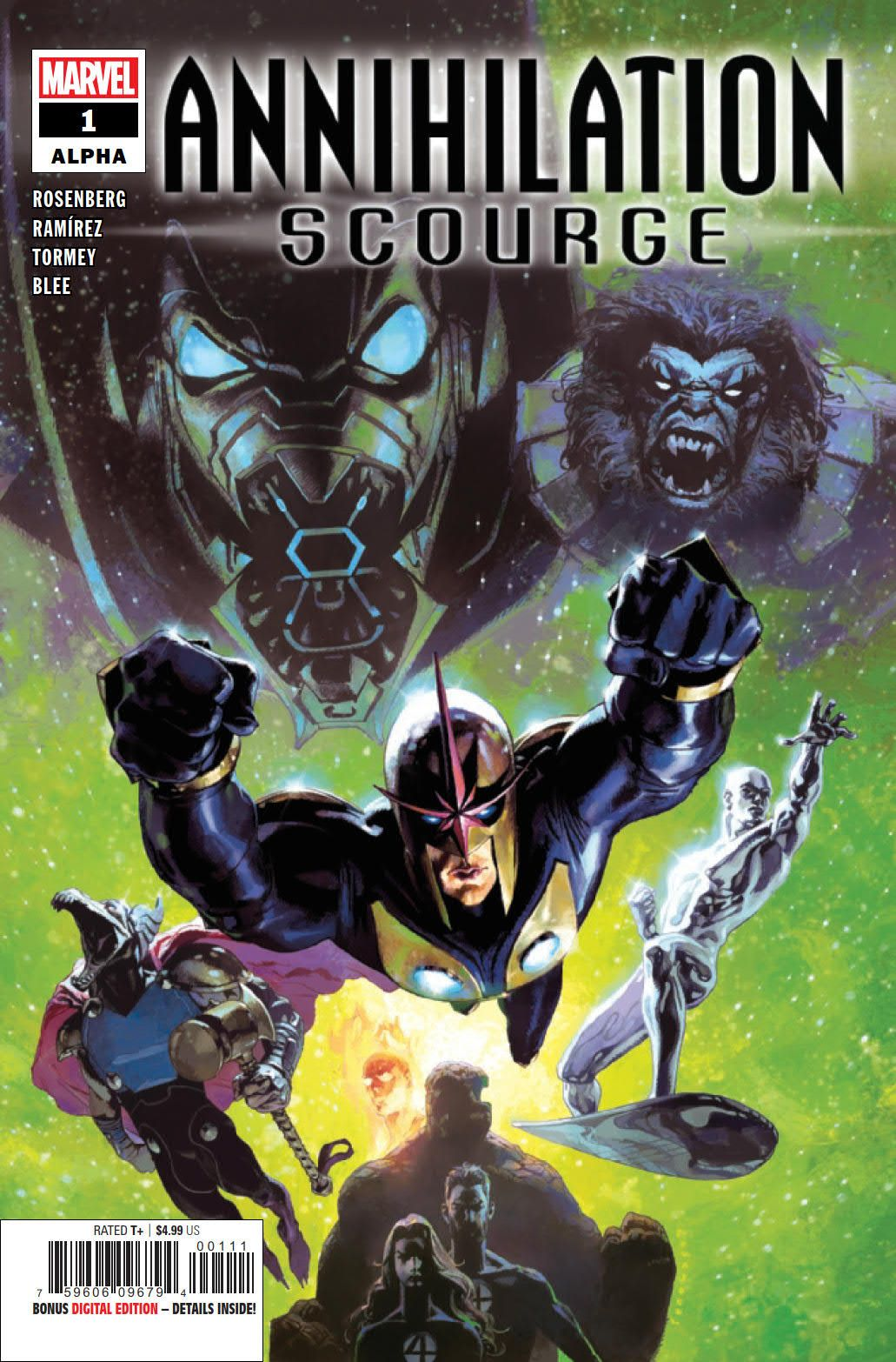 PREVIEW: Annihilation: Scourge Alpha #1 | CBR