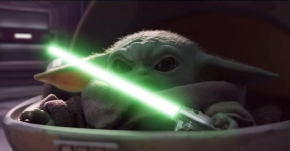 Baby Yoda Lightsaber Duels The Emperor In Star Wars Fan Edit