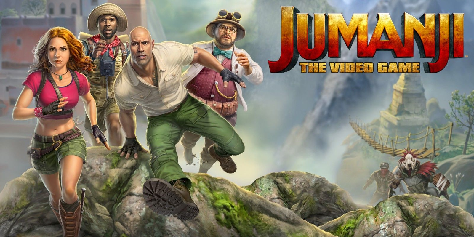 Jumanji: Bandai Namco Releases Launch Trailer For Video Game Adaptation