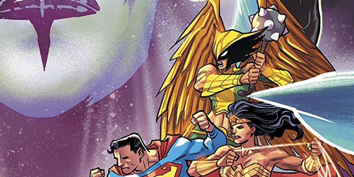 DC's Most Powerful Cosmic Killer Is Targeting Hawkgirl | CBR