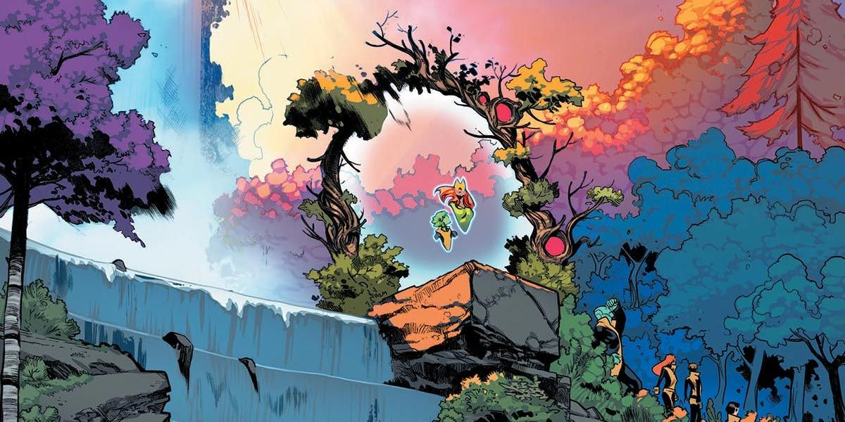 Krakoa: The X-Men's Living Island Base May be Plotting a Horrific Takeover