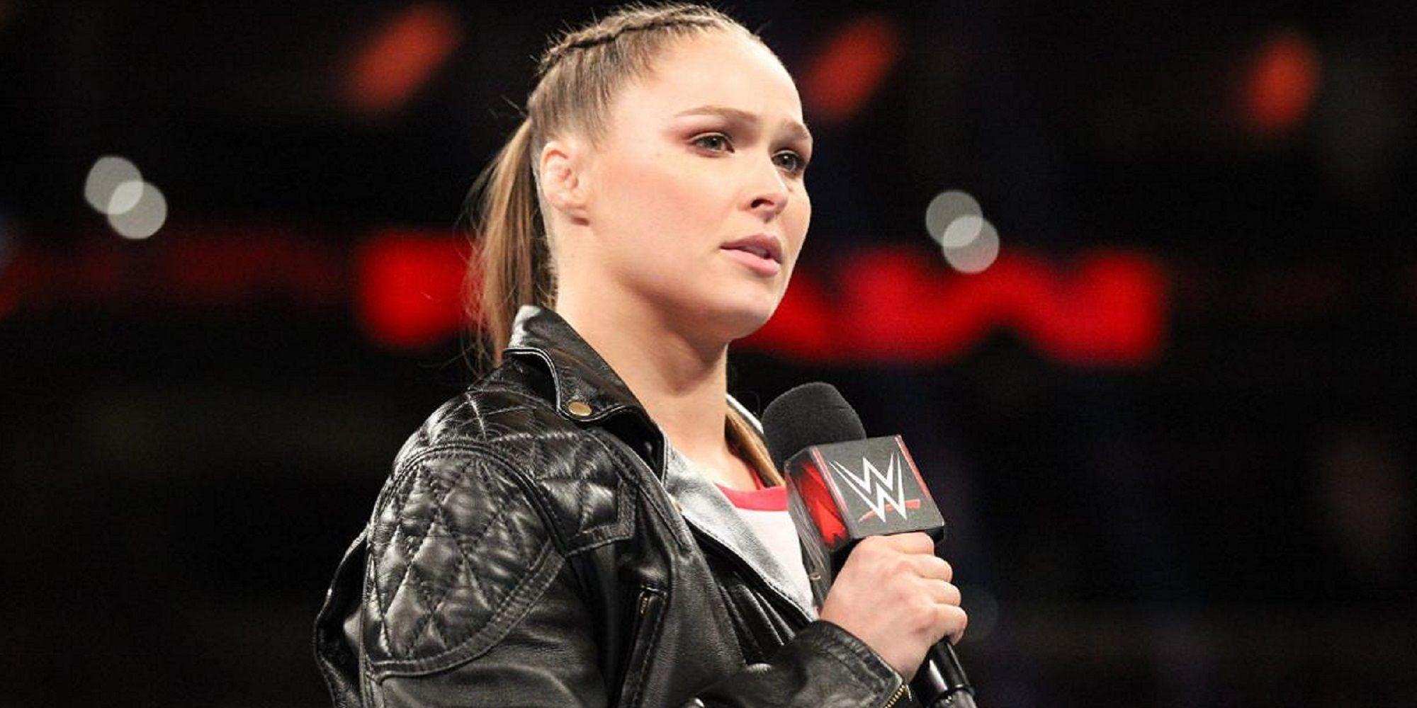 WWE Needs Ronda Rousey For WrestleMania 36
