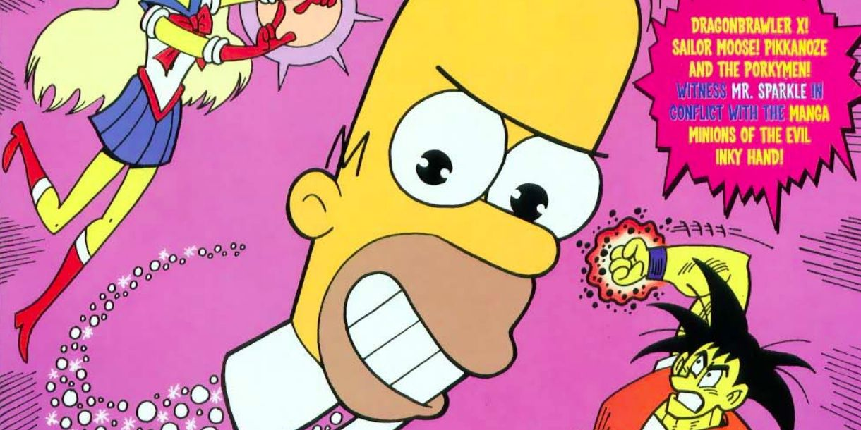 How The Simpsons Put a DARK Spin on Mr. Sparkle | CBR