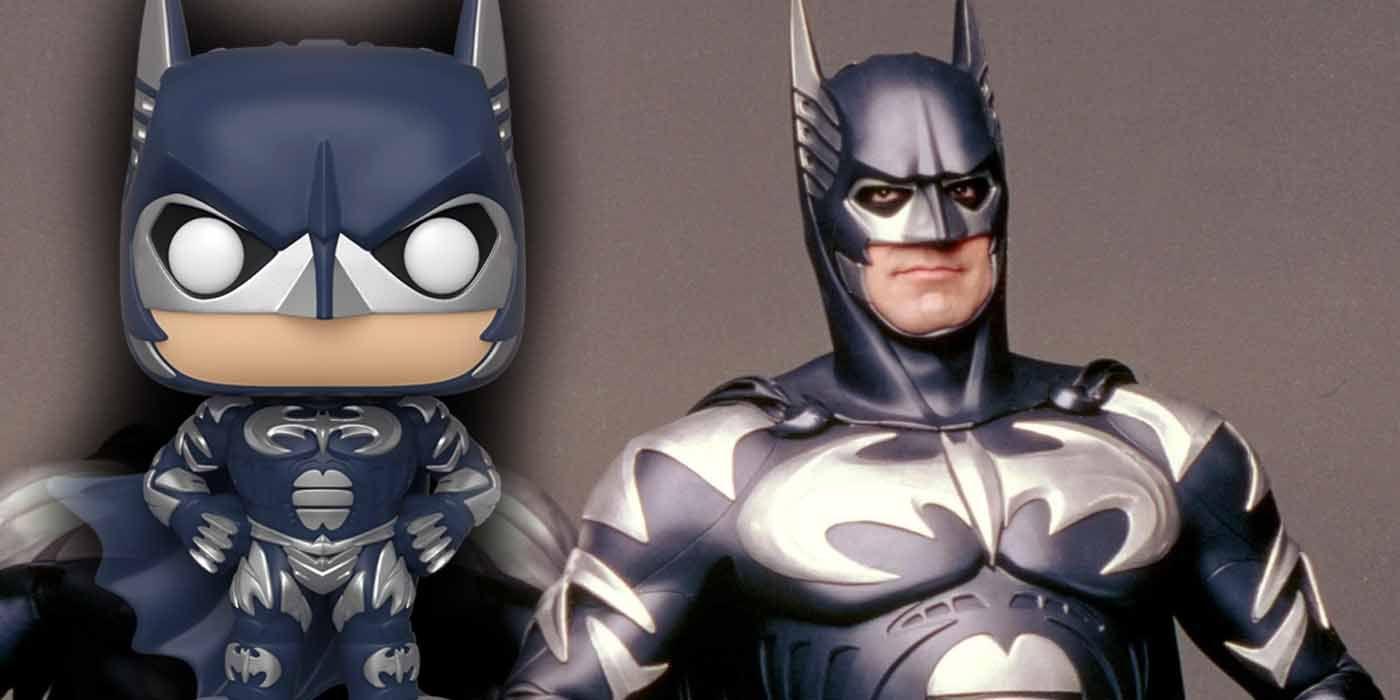 Joel Schumacher's Dark Knight Rises as a (Nipple-less) Batman & Robin Pop!