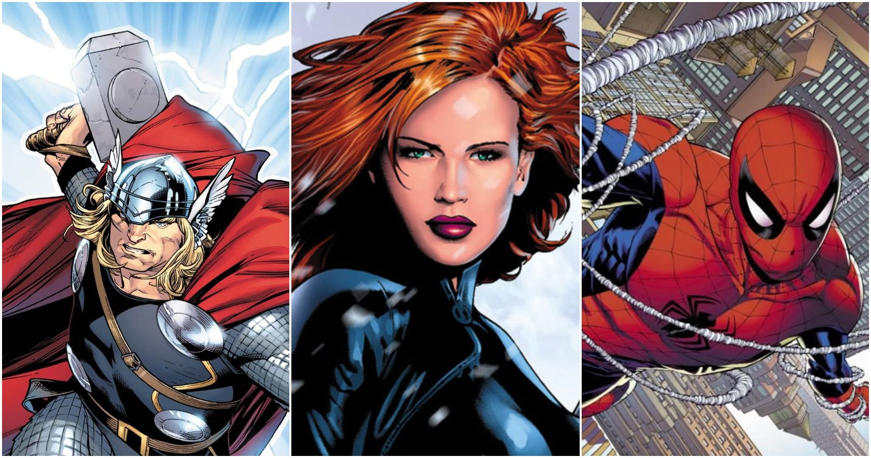 Marvel 5 Characters That Black Widow Beat 5 Who She Lost To