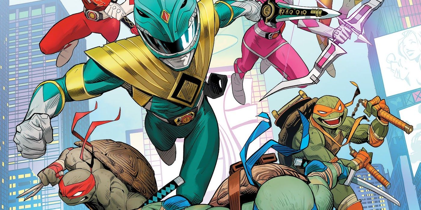 TMNT/Power Rangers Gives Shredder the Foot Clan He Always Dreamed Of