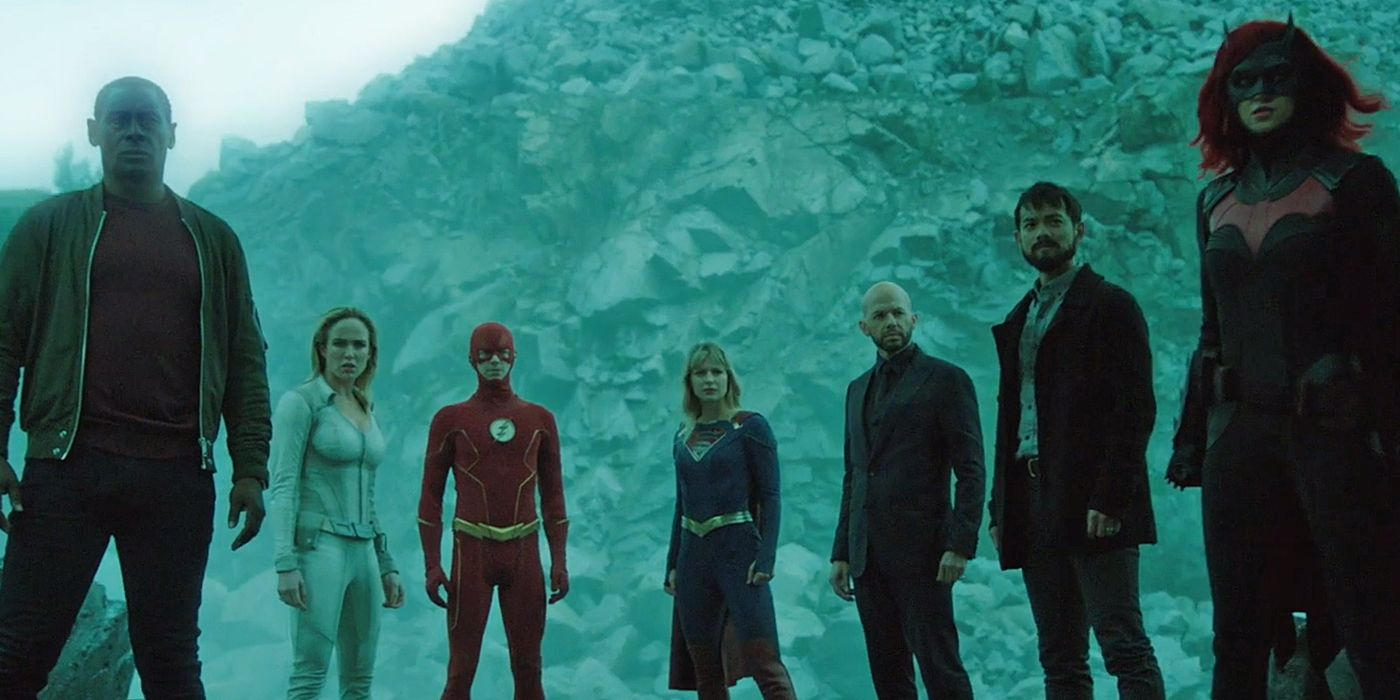 The Arrowverse Can't Keep Its Timelines Straight   CBR