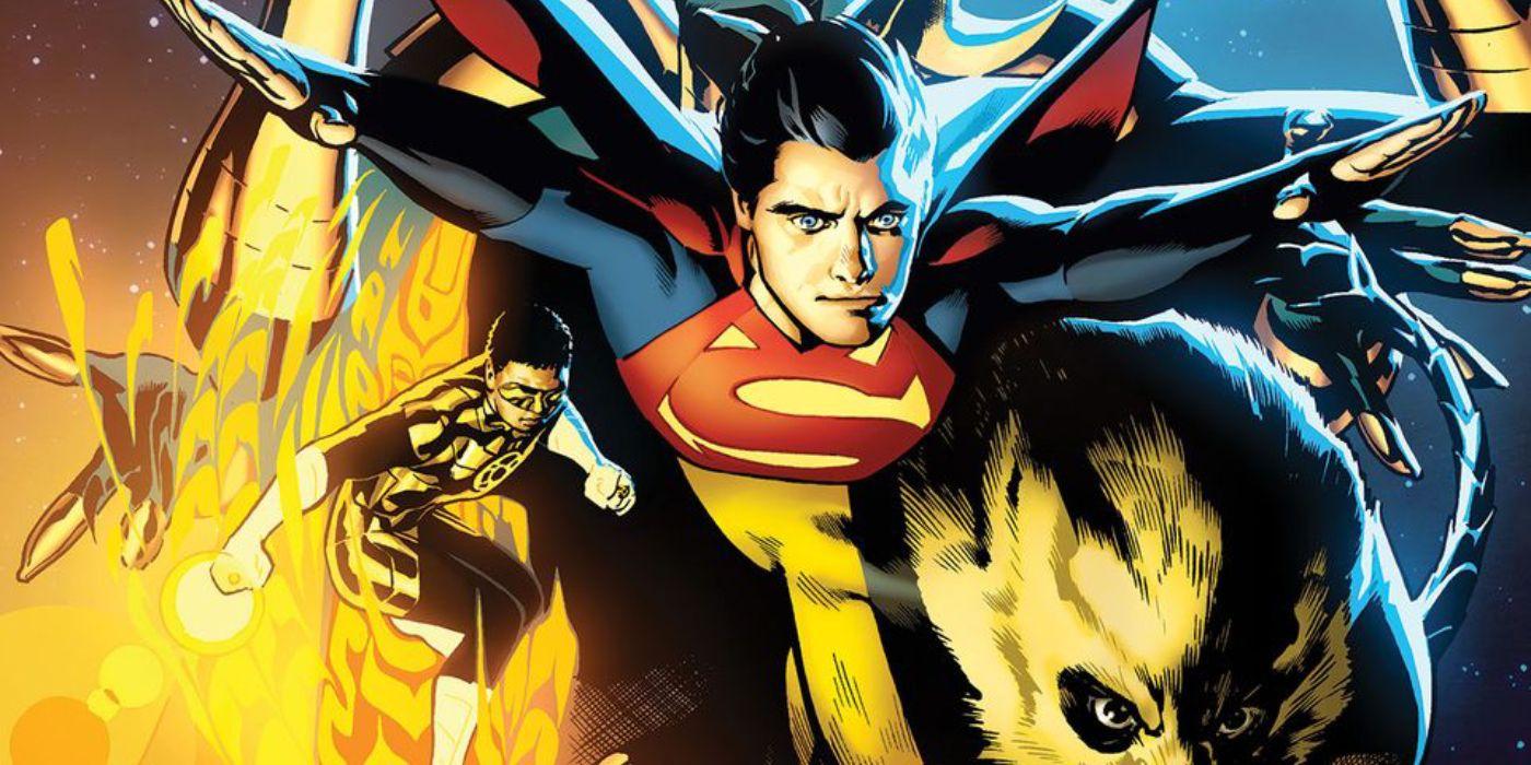 Bendis' New Legionnaires Arrive in Legion of Super-Heroes #6