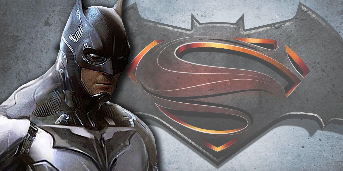 This Unused Batman v Superman Batsuit is Completely Badass | CBR