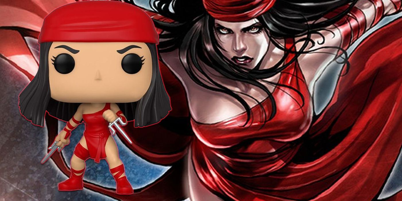 Funko Celebrates 80 Years of Marvel with Elektra First Appearance Figure