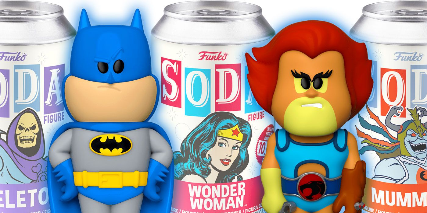 Funko Launches Soda Collectibles Line with DC, He-Man & More