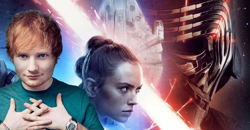 Star Wars Disney Reveals Ed Sheeran S Secret Rise Of Skywalker Cameo