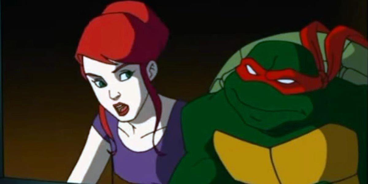 How the Teenage Mutant Ninja Turtles Met April O'Neil in the 2003 Cartoon