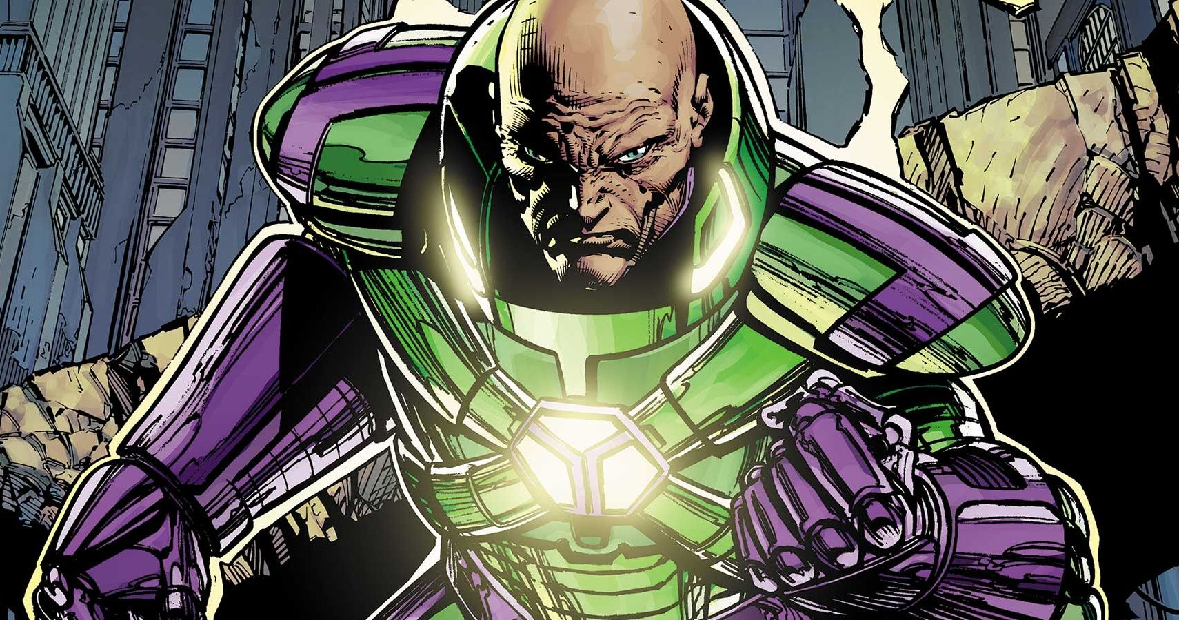 proud and boastful Lex Luthor