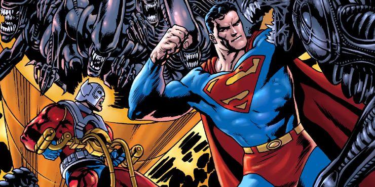 Aliens vs Superman