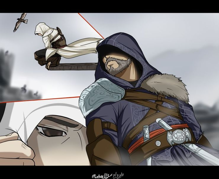 10 Pieces Of Assassin S Creed Fan Art That We Adore Cbr