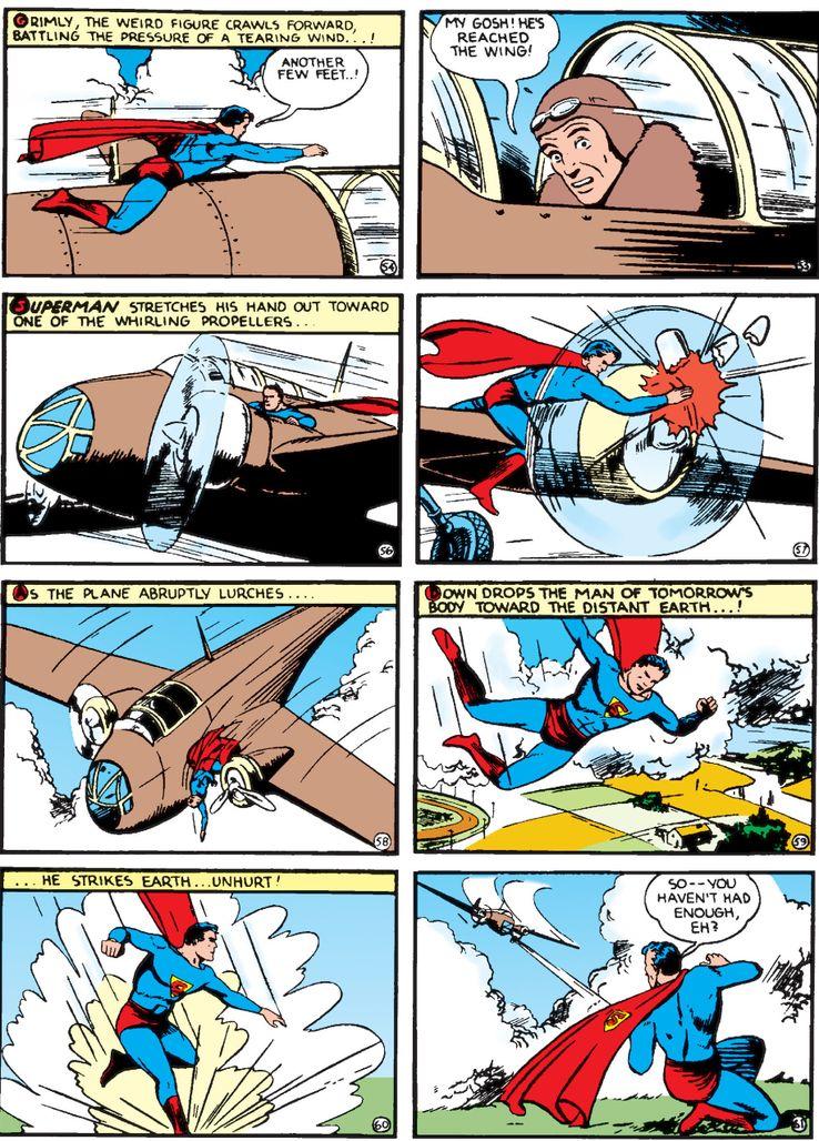 """cape action comics 22 3 - ¿Cuándo añadió Superman una """"S"""" a su capa?"""
