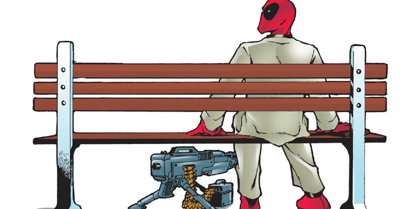 How Joe Kelly and Pete Woods Had Deadpool Pull a Forrest Gump